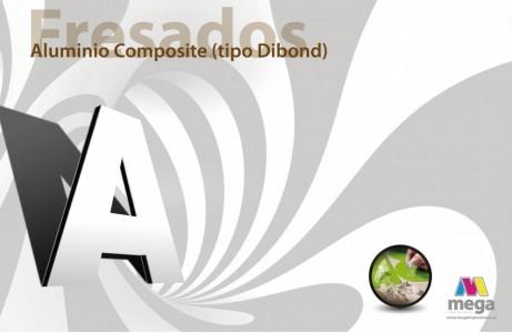 Aluminio Composite (tipo Dibond)