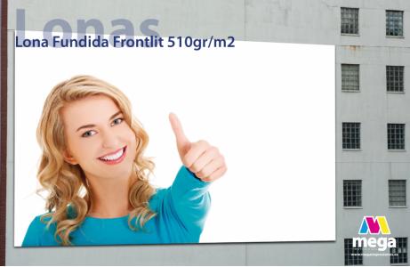 Lona Fundida Frontlit 510gr/m2